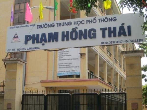 Trường THPT Phạm Hồng Thái