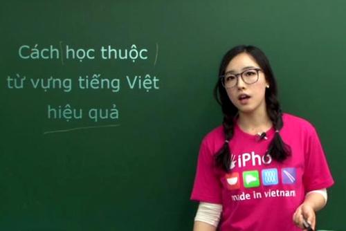 Gia sư dạy tiếng Việt cho người Trung Quốc chất lượng tại Hà Nội