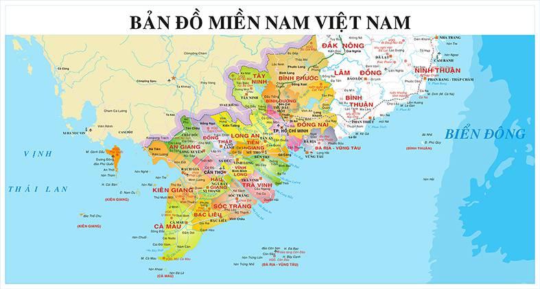 Bản đồ Việt Nam bản chuẩn