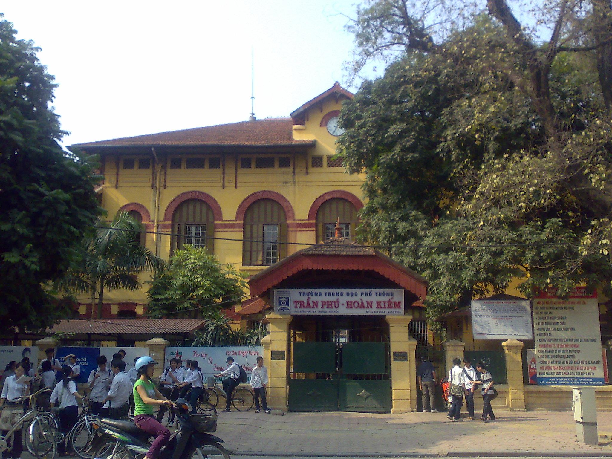 Trường THPT Trần Phú Hà Nội
