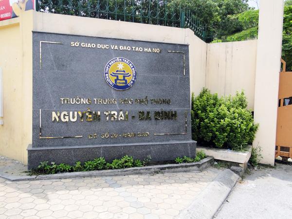 Giới Thiệu Trường THPT Nguyễn Trãi Ba Đình