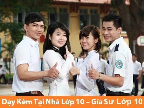 Gia sư lớp 10 ở Long Biên