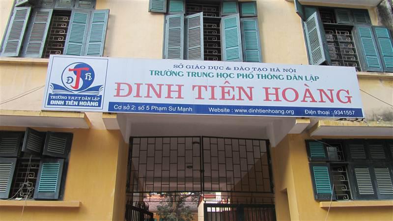 Giới Thiệu Trường THPT Đinh Tiên Hoàng
