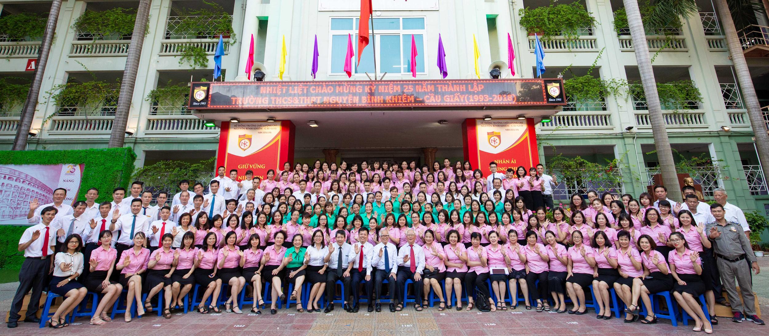 Giới Thiệu Trường THPT Dân Lập Nguyễn Bỉnh Khiêm